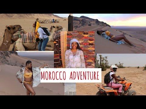 Morocco Travel Adventure  vlog part 1:  Marrakech,  Sahara desert, Essaouira, Meknes, Fez & more