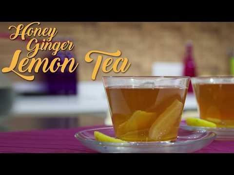 Honey Ginger Lemon Tea | Tea Story | Chef Harpal Singh Sokhi