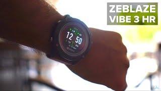Best Fitness Tracker Watches Under 50 Blue Zeblaze Vibe 3 Hr