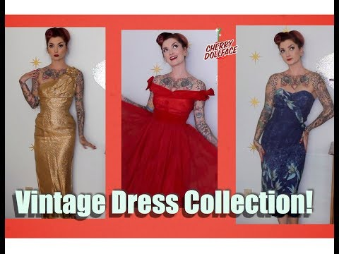 My Vintage Rockabilly Pinup Dress Collection Lookbook! by CHERRY DOLLFACE