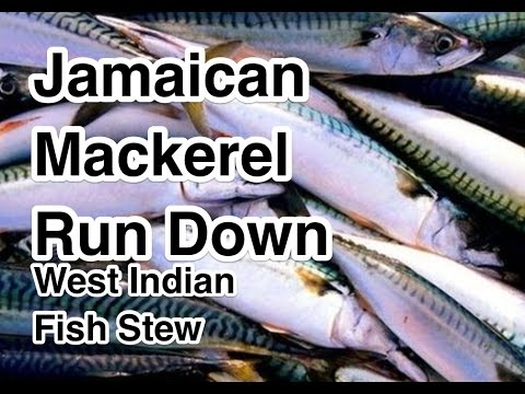Jamaican Mackerel Run Down Recipe - West Indian Fish Stew