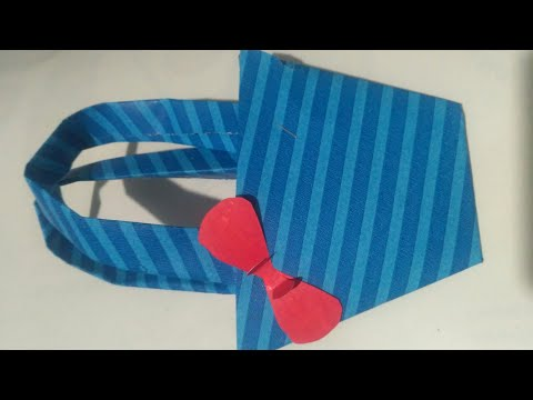 Diy how to make paper bag for valentine's Day, valentine special, how to make your  girlfriend happy