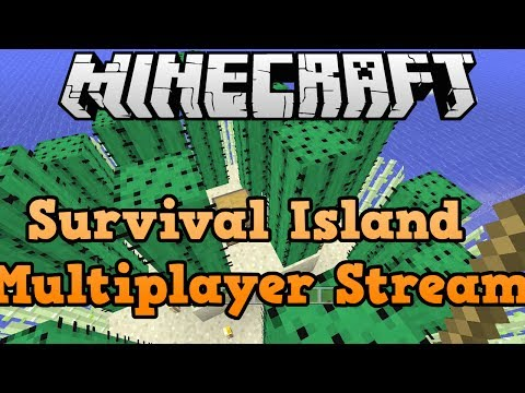 Minecraft Xbox 360 + PS3: Survival Island Live Stream Multiplayer
