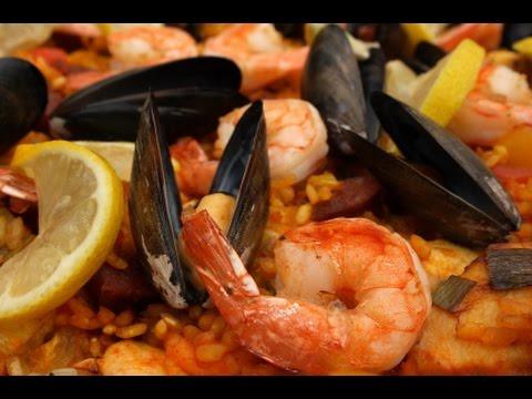 Paella Recipe - How to Make Paella --  The Frugal Chef