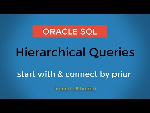 Hierarchical Queries in Oracle/ عربي