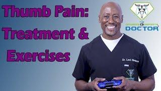 Thumb Pain Treatment Exercises Double Gamers Thumb