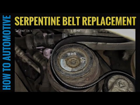 How to Replace the Alternator and AC Belts on a 1999-2007 Chevy C1500 Silverado