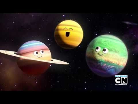 Planets' Song (The Meaning of life Space Song) - The Amazing World of Gumball