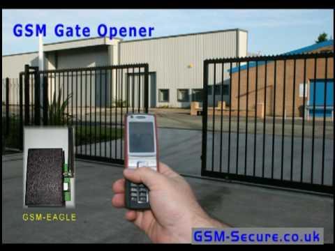 GSM Secure - GSM Gate Opener - GSM EAGLE