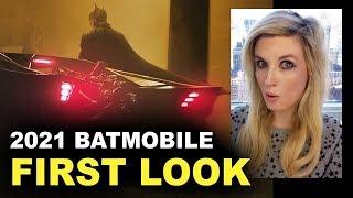 The Batman 2021 Batmobile FIRST LOOK