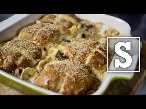 HOT CROSS BUN & BUTTER PUDDING RECIPE - SORTED