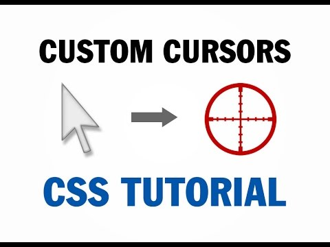 Custom Mouse Cursor Tutorial Canvas CSS HTML