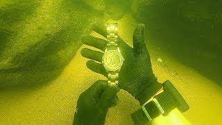 Scuba Diving for a Lost $15,000 Rolex! (Unbelievable Find)