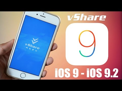 How To Install vShare iOS 9.2  - Paid Apps FREE Without Jailbreak iOS 9 - (iPad Pro Also)