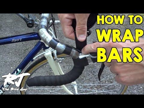 How To Tape Wrap Road Bike Handlebars