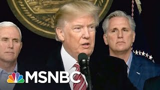 Lawrence: Shutdown Looms Because Donald Trump Failed On Wall | The Last Word | MSNBC