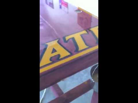 Texas State Beer Pong Table