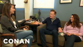 Conan & Sona Meet With Human Resources - CONAN on TBS