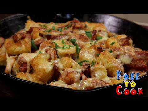 How to Cook Loaded Tater Tots