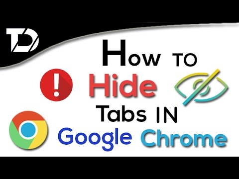 ✅How To Hide Opened Tabs In Google Chrome For Privacy