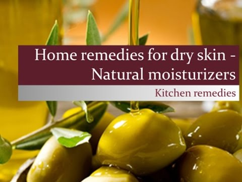 3 Home remedies for dry sensitive skin | Natural moisturizers using organic kitchen ingredients |