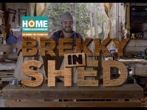 Brekky In Shed