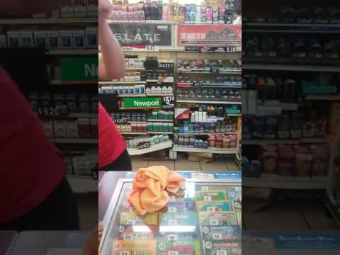 Seven eleven cashier is rude
