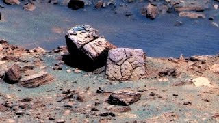 Classic Mars Pictures at the Pond: Curiosity Rover