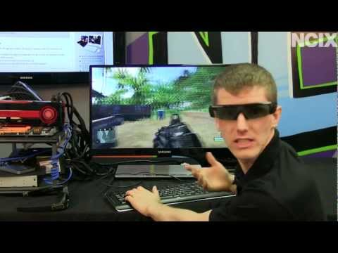 AMD HD3D Sterescopic 3D Gaming Setup Guide & Showcase NCIX Tech Tips