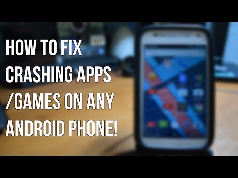 How to fix Crashing Apps/Games on Any Android Phone!