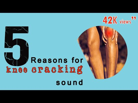 5 reasons on knee cracking sounds