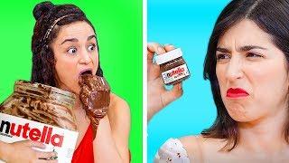 DEV YİYECEKLER VE MİNYATÜR YİYECEKLER || Eğlenceli Yiyecek Meydan Okumaları ve Çılgın DIY Şakaları!