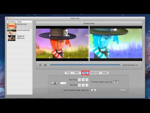 How to Convert Various Videos to DVD on Mac OS X Lion Video