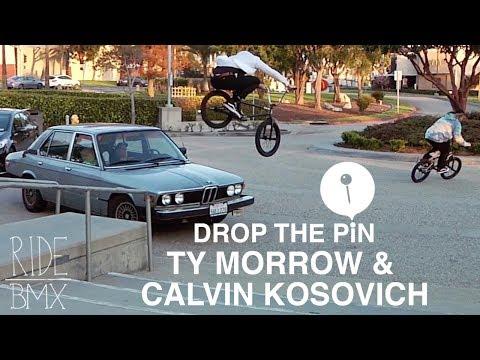 TY MORROW & CALVIN KOSOVICH - DROP THE PIN