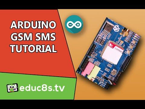 Arduino Tutorial: GSM/GPRS SHIELD (SIM900) SMS Send and Receive Tutorial on Arduino Uno
