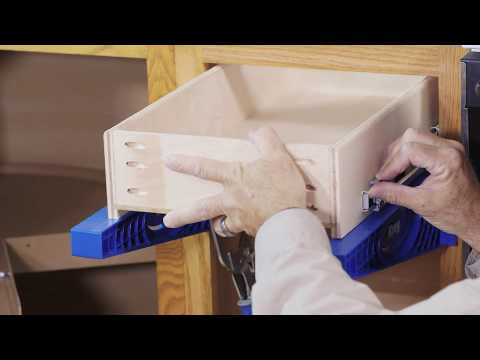 Kreg Kitchen Makeover Series Part 3: How To Install Drawers