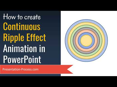 Continuous Ripple Effect Animation in PowerPoint (Advanced Tutorial)