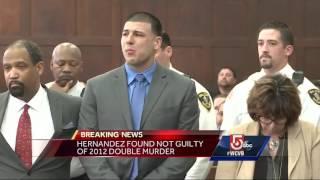 Aaron Hernandez not guilty in double murder trial