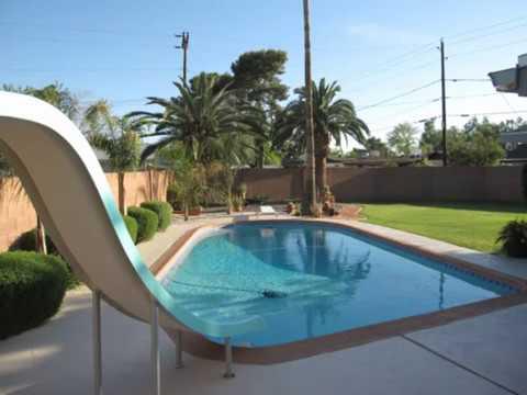 3 Bedroom 2 Bathroom Pool with Slide & Diving Board in Phoenix AZ!!