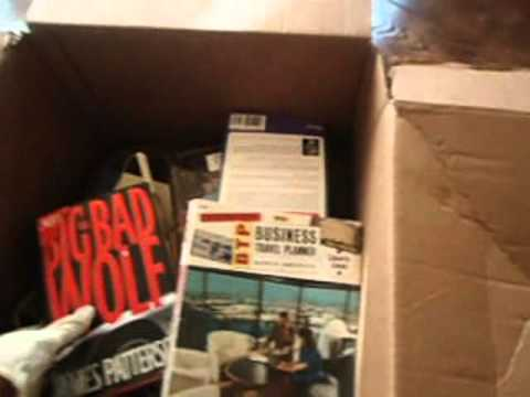 Finding a box full of First Edition Books On eBay While Dumpster Diving | Mom  The Ebayer Vlog