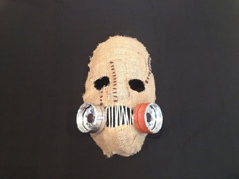 Scarecrow Mask Tutorial - Batman: Arkham Asylum