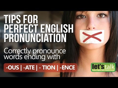 Tips for perfect English pronunciation – English lesson to improve communication skills