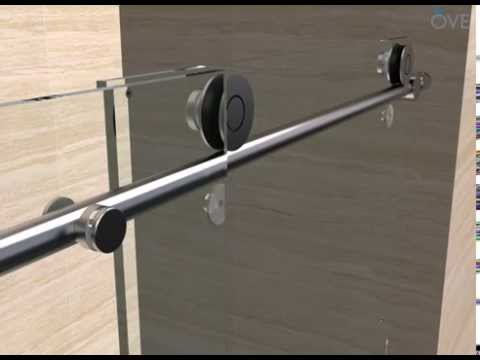 OVE Sydney Tub Door installation