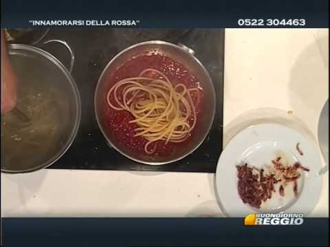 Bucatini all'amatriciana e Rigatoni alla carbonara