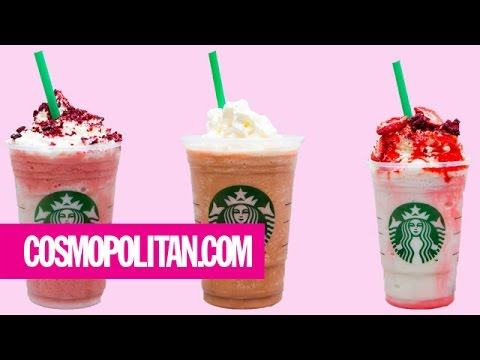 11 Secret Starbucks Drinks Perfect for Valentine's Day | Cosmopolitan