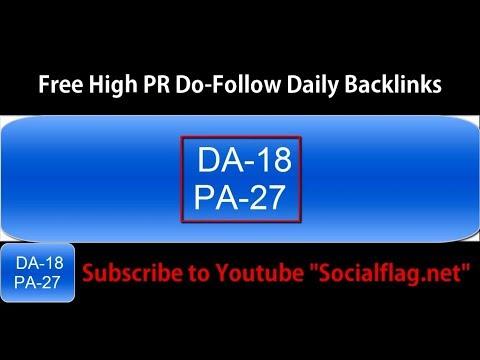 Free Forum Backlinks - Daily DoFollow High Page Rank DA-18 PA-27 (02/10/2017)