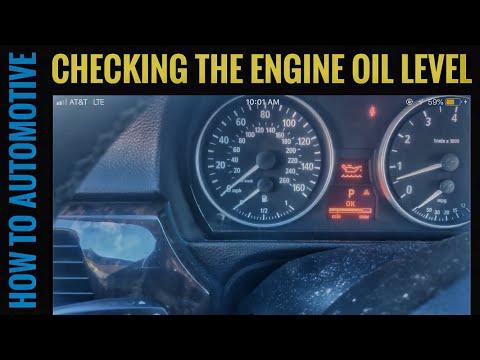 How to Check the Engine Oil Level on a BMW 3 Series & 4 Series › E90/E91/E92/E93 (2006-2013)