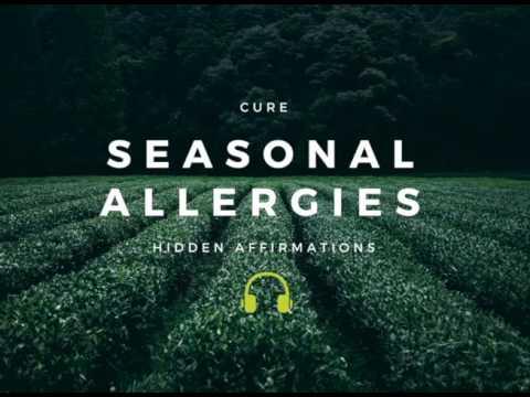 INSTANT RELIEF Cure Seasonal Allergies Subliminal + Binaural Beats