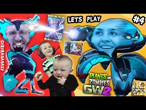 INFINITE AMMO CRrRAaaAzZY BATTLE!  Lets Play Plants vs. Zombies Garden Warfare 2 #4 (Opposite Sides)