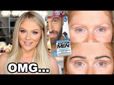 DIY PERMANENT EYEBROWS | DOES IT WORK?!